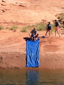 The redneck water slide at the WCI Retreat at Lake Powell
