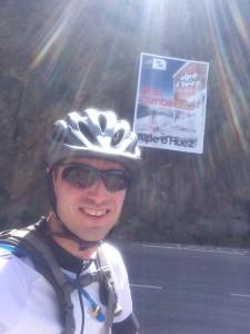 Biking the Alpe De Huez, without training wheels