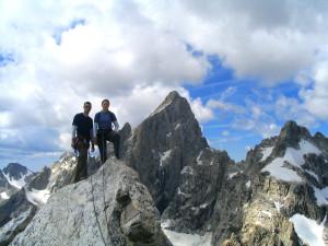 Jim and Katie On Teewinot Summit