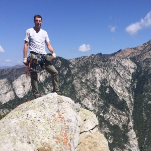 The Summit of Perla's Ridge, Little Cottonwood Canyon
