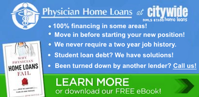 Contact Physician Home Loans at Citywide today!