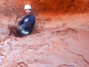 Canyoneering is a messy sport