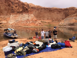 If you take the Boy Scouts with you to Lake Powell, you can write off the mileage. Name this canyon for bonus points.