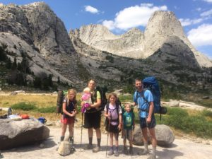 4 kids, 5 days, 25 miles, all over 9000 feet. Brave or Crazy?