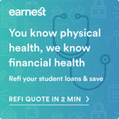 earnest student loan refinancing