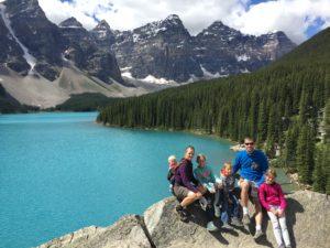 Creating memories or hemorrhaging cash? You decide at Moraine Lake, Banff