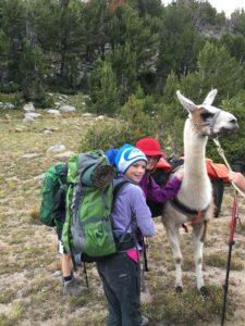 The kids wondered why we didn't get a llama to carry their stuff