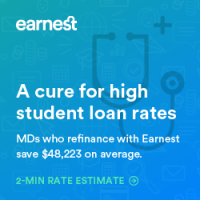 Earnest refinancing bonus
