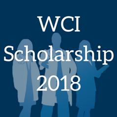 WCI Scholarship 2018