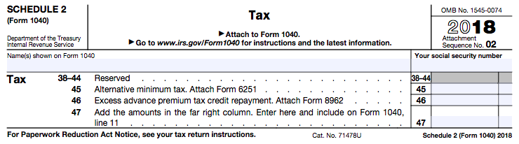 The New 1040 Tax Form! - The White Coat Investor - Investing