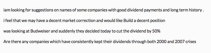 Individual stocks bad idea