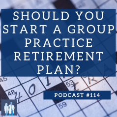 group practice retirement plan