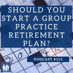 group practice retirement plan