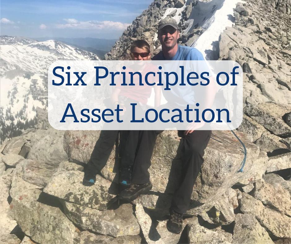 Six Principles of Asset Location