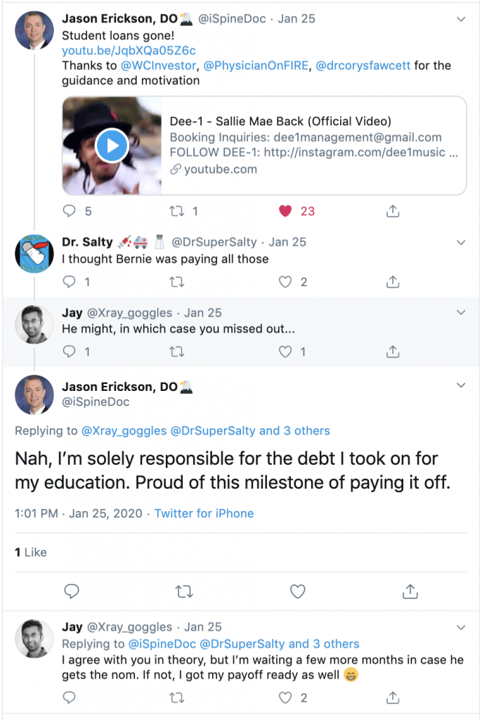 Elizabeth Warren student debt relief