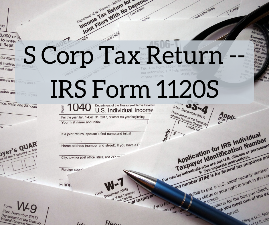 S Corp Tax Return