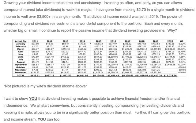 dividend investors