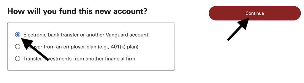 How to fund investing account